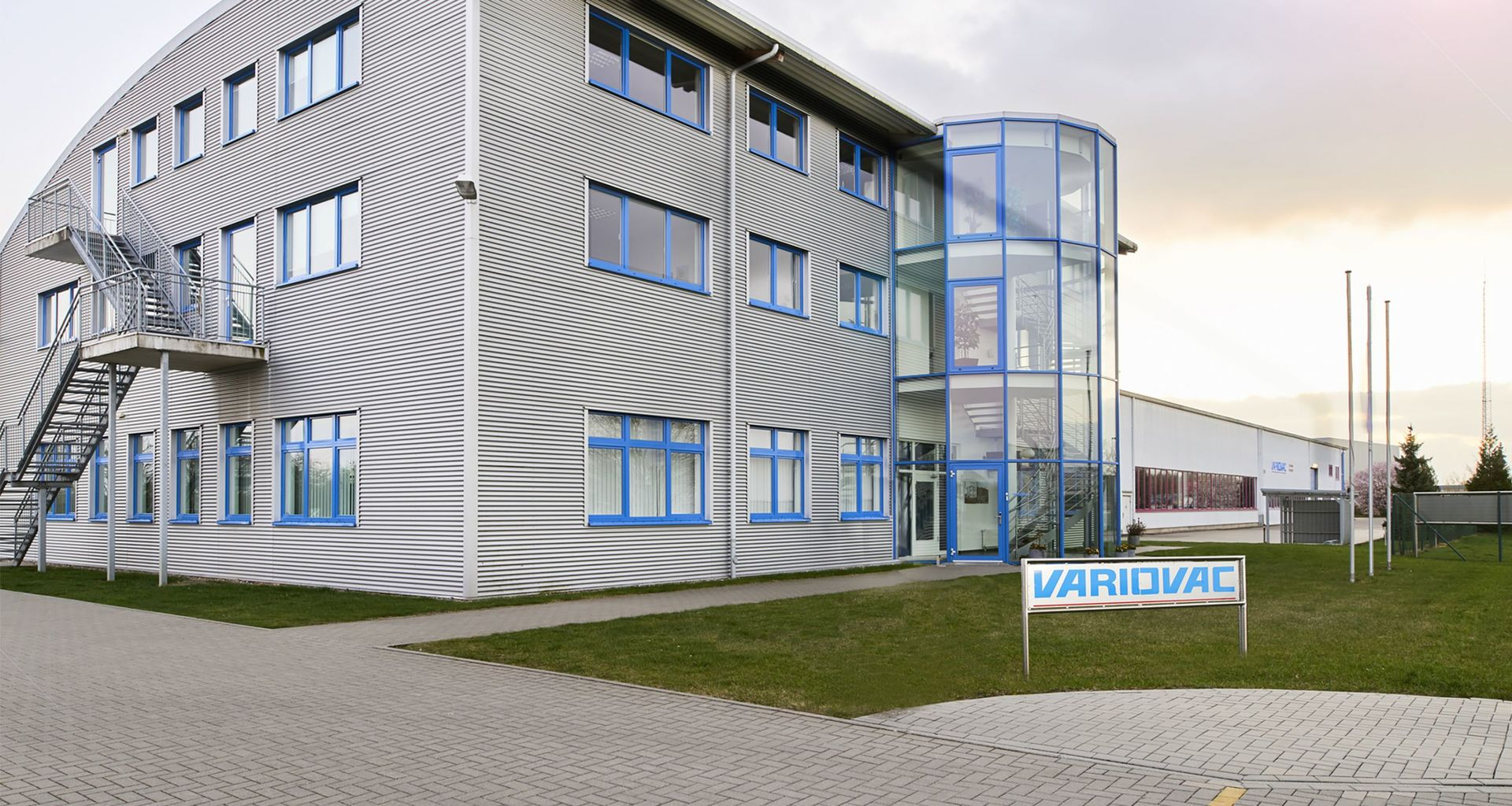 VARIOVAC Firmensitz in Zarrentin am Schaalsee
