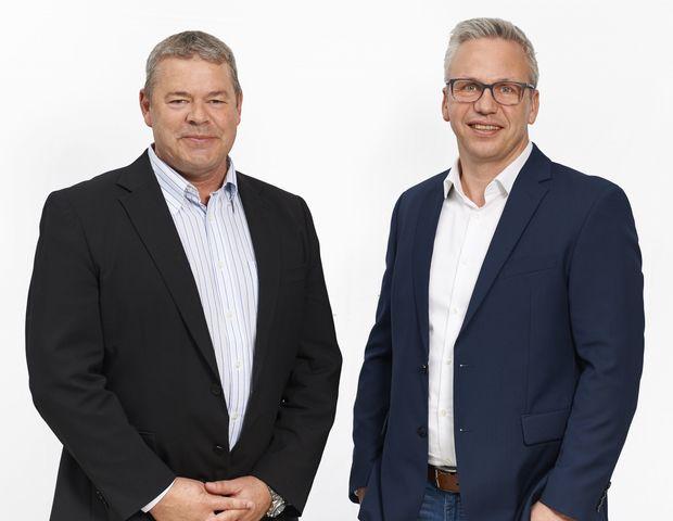 Joerg Reimer CEO Andreas Poussét COO